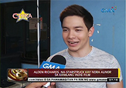 Alden Richards gets starstruck over Nora Aunor