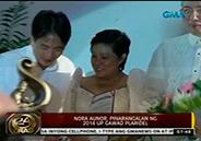 Nora Aunor honored at the 2014 UP Gawad Plaridel