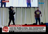 <em>Bubble Gang</em> cast stage Thanksgiving Fans Day
