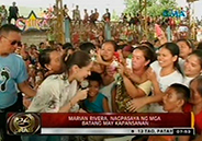 Marian Rivera spends time with orphans