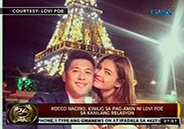 Rocco Nacino on admission of Lovi Poe that they're a couple