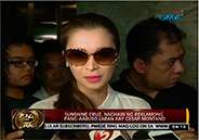 "Sunshine Cruz claims Cesar Montano ""raped"" her on Mother's"