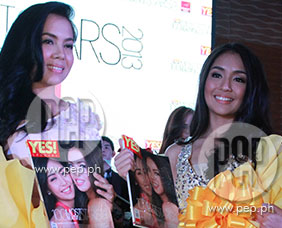 Julia Montes and Kathryn Bernardo give their take on sharing the YES!
