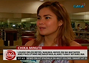 Louise delos Reyes has moved on after