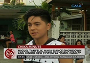 Miguel Tanfelix and Junior New System engage in dance showdown on &amp