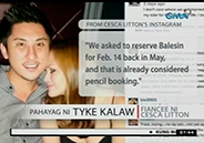 Cesca Litton's fiancé admits being furious regarding Balesi