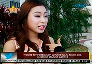 """""""You're My Foreignay"""" winner Shine Kuk wants to enter show"""