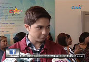 Alden Richards prepares for kissing scene with Marian Rivera in Carmel