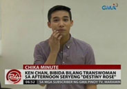 "Ken Chan to star as transwoman on GMA AfternoonSerye ""Destiny"