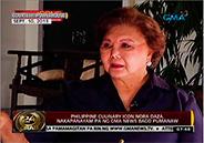 Chef Nora Daza dies at 84