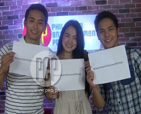 PEPtalk. Enzo Pineda, Lexi Fernandez, and Kristofer Martin's fun-fille