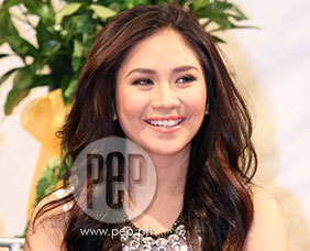 Sarah Geronimo talks about screen kiss with John Lloyd Cruz