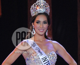 Miss International 2013 Bea Santiago gives advice to Bb. Pilipinas 201