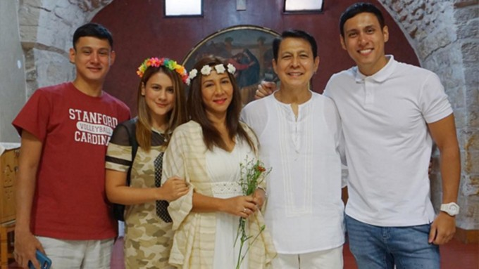 Tirso Cruz Iii And Wife Lynn Ynchausti Renew Wedding Vows