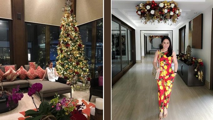 20 Colorful And Chicest Celebrity Christmas Trees This