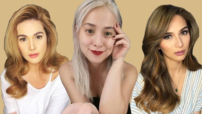 Seven Flattering Shades Of Blonde For Pinays