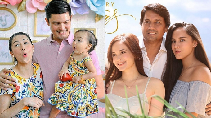 Dantes, Gomez, and showbiz families wish you all a Merry ...