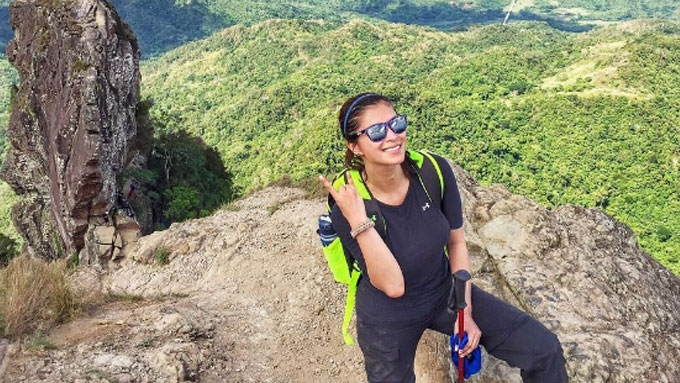 Angel Locsin Climbs Four Mountains Within Three Weeks