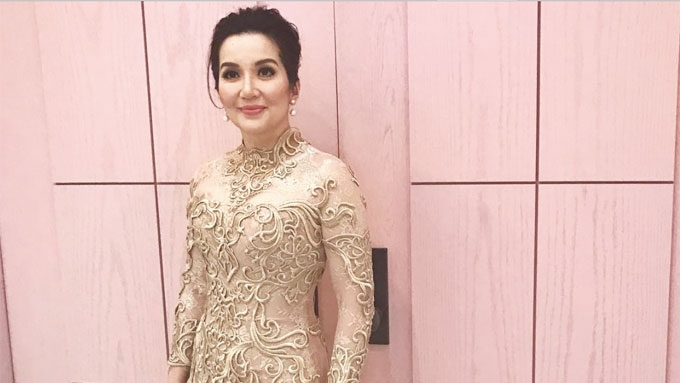 Principal Wedding Sponsor Gowns: Kris Aquino Does Something Unimaginable Clad In A Gown