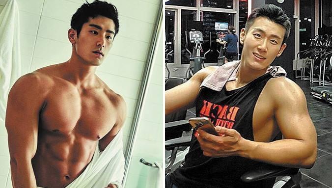 Hot korean hunk