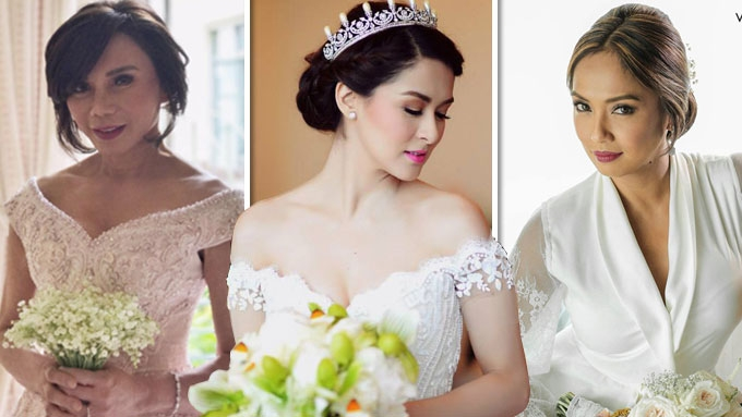 Who Wore The Michael Cinco Bridal Gown Best