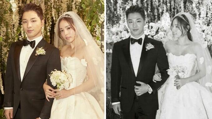 Hyo wedding min rin Min Hyo