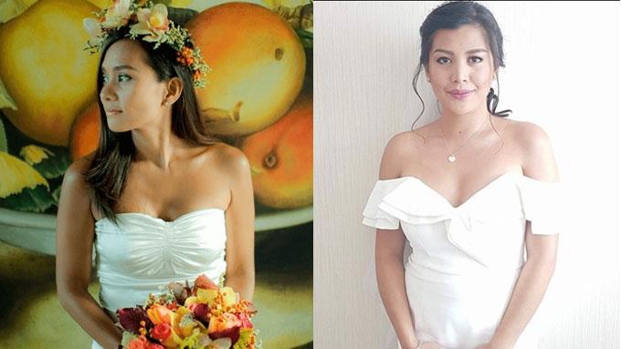 Celebrity Brides Who Slay In Wedding Dressesa That Cost Less Than 5 000 Pesos Pep Ph
