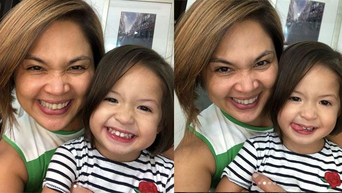 Judy Ann Santos Gets Twinning Haircut With Luna Pep