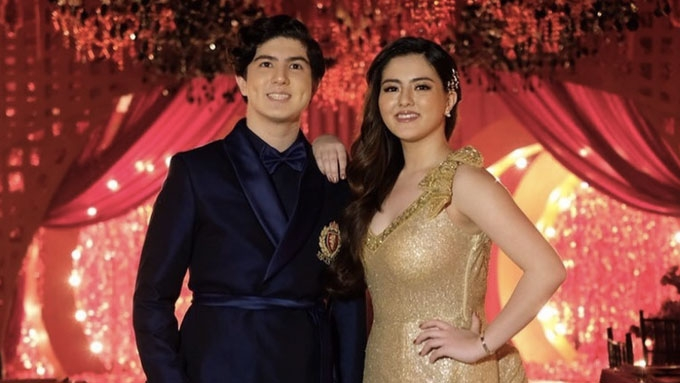 celebrity kids at the grand party for mavy and cassy