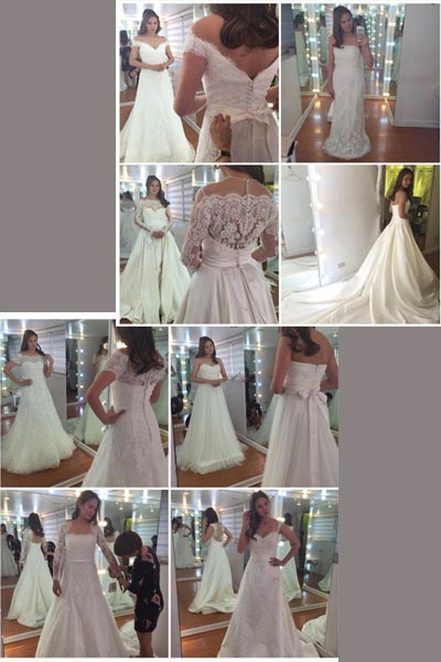 Help Isabel Oli choose her second wedding gown! | PEP ph