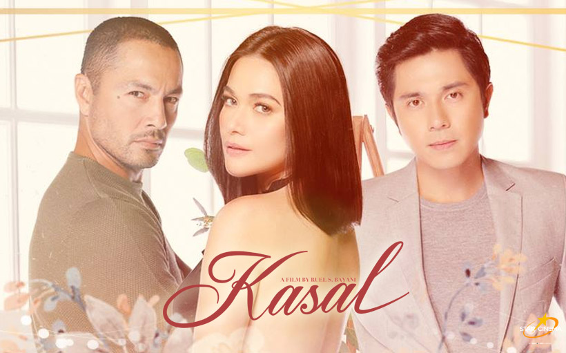 Bea Alonzo with Derek Ramsay, Paulo Avelino in Kasal