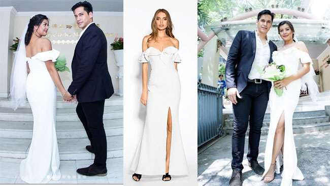 Celebrity brides who slay in wedding dresses that cost less than ...