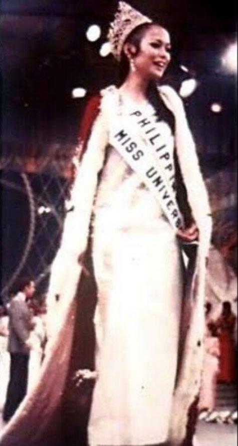 Gloria Diaz, nilinaw na puti at hindi dilaw ang gown niya