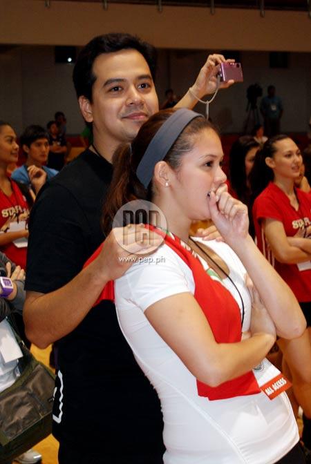 Shaina Magdayao And John Lloyd Cruz