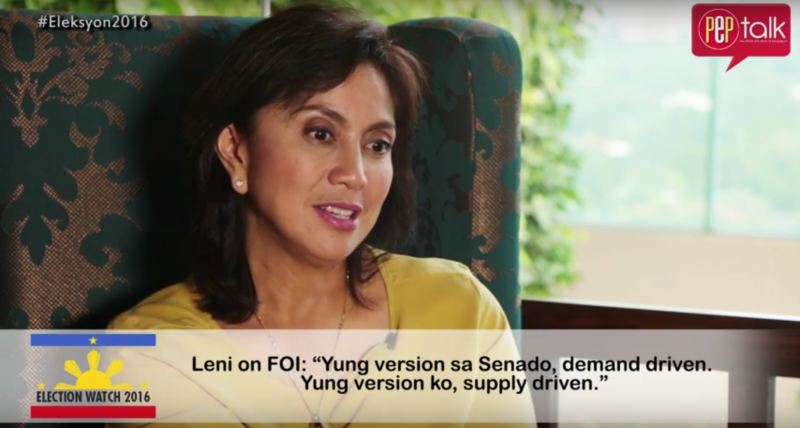 Leni Robredo aims to empower more women and help more small