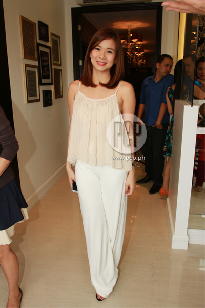 Derek Ramsay and Cristine Reyes grace Foot Mage Lounge grand ...
