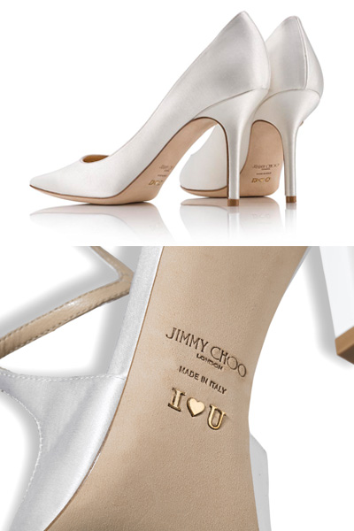 Jimmy Choo personalized shoes for