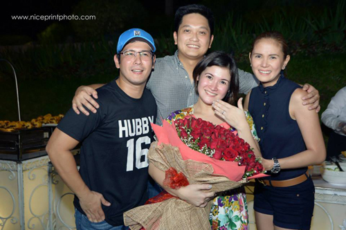 IN PHOTOS: Camille Prats now enaged to John Yambao; yup ...