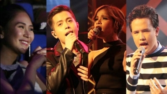 Sarah Geronimo cheers Jason Dy, Klarisse, JK Labajo at One Voice Concert