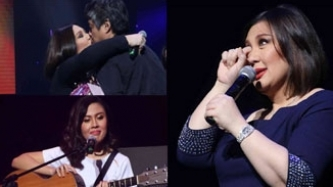 Sharon reveals she almost married Robin Padilla; Megastar becomes emotional during concert