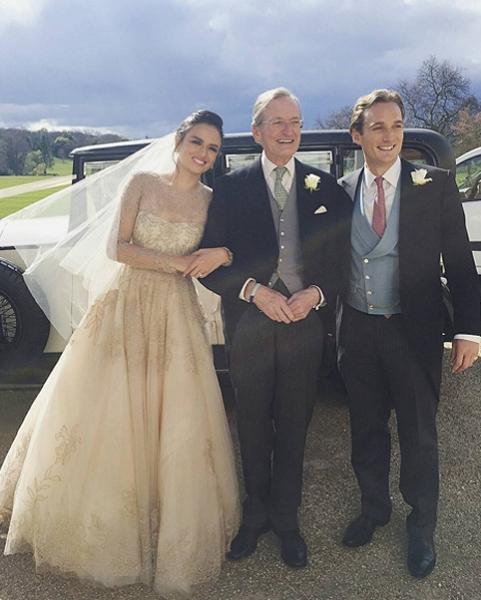 In Photos Highlights Of Georgina Wilsons Wedding Weekend In Uk