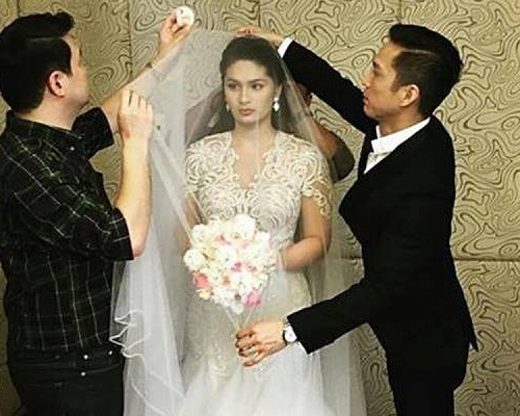 Vic And Pauleen Mr And Mrs Sotto Wedding Pep