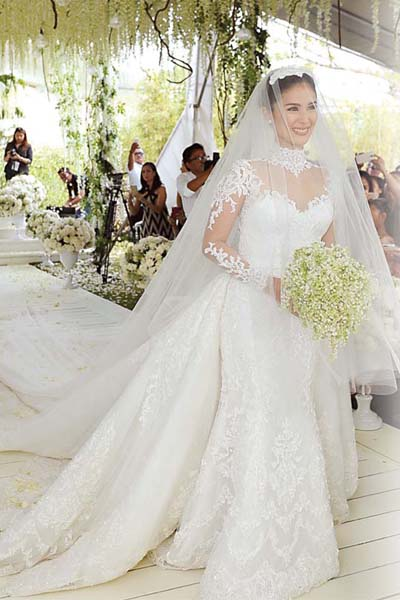 10 stars with most talked about wedding dress | PEP.ph