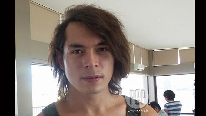 Jake Cuenca Long Hair