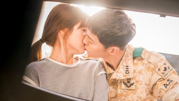 Descendants of the Sun theme song performed by lead stars