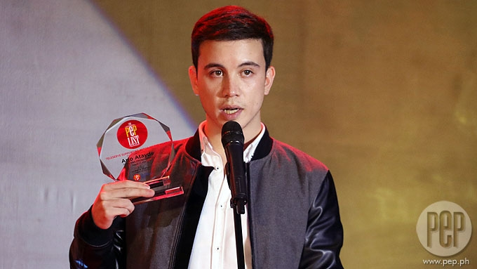 Arjo Atayde dedicates acting award to Coco Martin