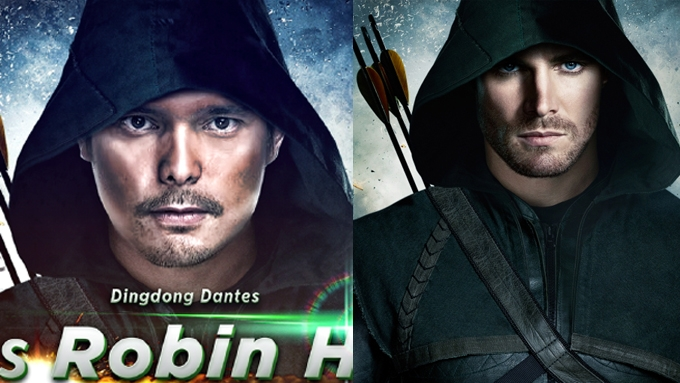 Did Alyas Robin Hood imitate Hollywood TV series Arrow?