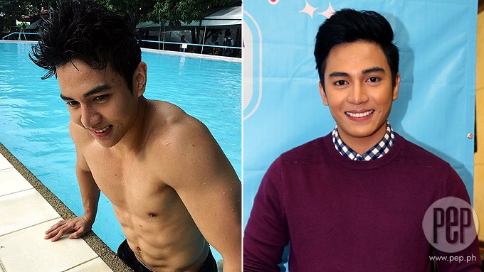 Jak Roberto doesn't mind showing abs on TV