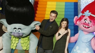 Anna Kendrick joins Justin Timberlake for musical animation <em>Trolls</em>