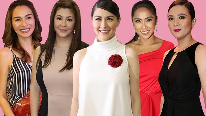 Marian Rivera and 17 Most Loyal GMA-7 Actresses